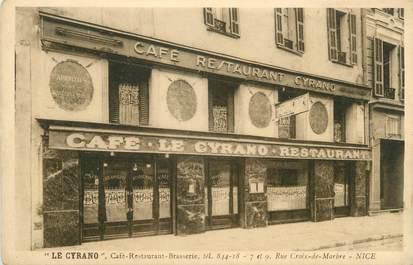 """CPA FRANCE 06 """" Nice, Café Restaurant Brasserie Le Cyrano"""""""