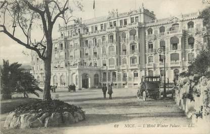 """CPA FRANCE 06 """" Nice, L'Hôtel Winter Palace"""""""