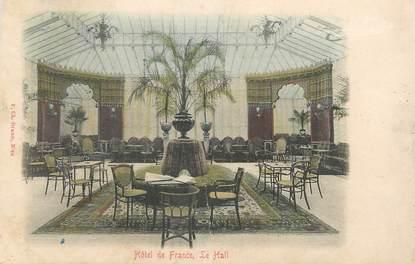 """CPA FRANCE 06 """" Nice, Le Hall de l'Hôtel de France"""""""