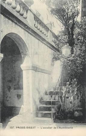 """CPA FRANCE 06 """" St Paul, Passe Brest, l'escalier de l'aumonerie"""""""