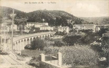 "CPA FRANCE 06 "" La Colle, Le viaduc"""