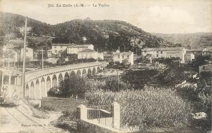 "CPA FRANCE 06 "" La Colle, Le viaduc"""
