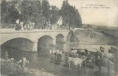 """CPA FRANCE 10 """" Clairvaux, Le Pont sur l'Aube"""""""
