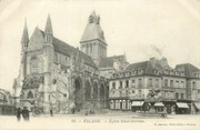"""14 Calvado / CPA FRANCE 14 """"Falaise église Saint Gervais"""""""