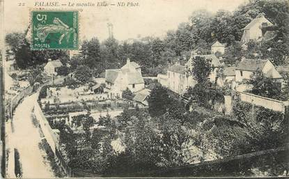 """/ CPA FRANCE 14 """"Falaise, le moulin Elie"""""""
