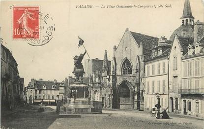 """/ CPA FRANCE 14 """"Falaise,, la place Guillaume le Conquérant"""""""