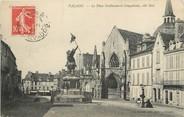 """14 Calvado / CPA FRANCE 14 """"Falaise,, la place Guillaume le Conquérant"""""""