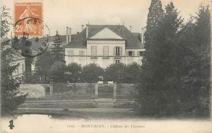"""CPA FRANCE 69 """" Montagny, Château des Varennes"""""""