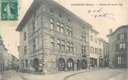 """CPA FRANCE 69 """" Condrieu, Maison du Moyen Age"""""""