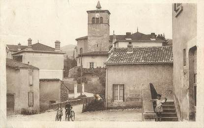 "CPA FRANCE 69 "" Loire, L'église"""