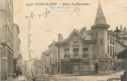 "CPA FRANCE 69 "" Lyon, St Just, Place St Alexandre"""