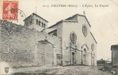 "CPA FRANCE 69 "" Taluyers, L'église """