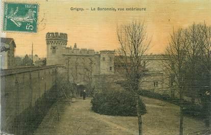 "CPA FRANCE 69 "" Grigny, La Baronnie"""