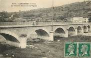 """07 Ardeche CPA FRANCE 07 """"Lamastre, le pont du Doux et les Vignes"""""""