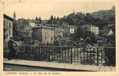 """CPA FRANCE 07 """"Lamastre, le pont sur le Condoye"""""""