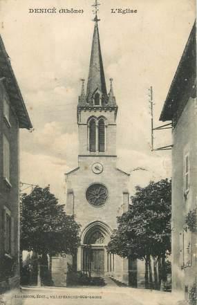 "CPA FRANCE 69 ""Denicé, L'église"""