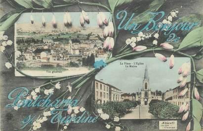 """CPA FRANCE 69 """"Pontcharra sur Turdine, Vues"""""""