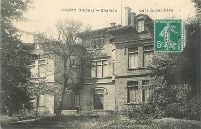 """CPA FRANCE 69 """"Cogny, Château de la Lucardière"""""""