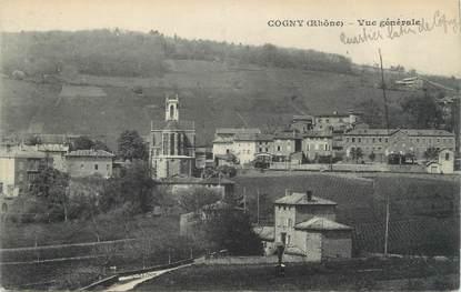 """CPA FRANCE 69 """"Cogny, Vue générale"""""""
