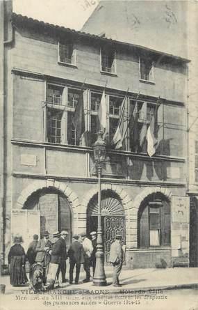 """CPA FRANCE 69 """"Villefranche sur Saône, Hôtel de Ville"""""""