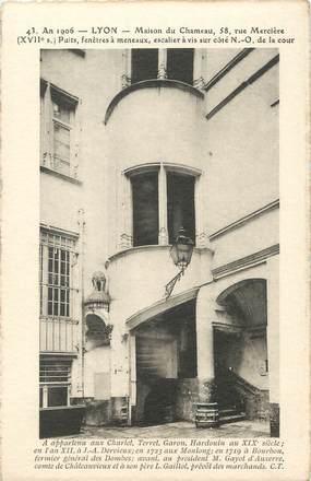 """/ CPA FRANCE 69 """"Lyon, maison du chameau"""""""