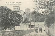 """69 RhÔne CPA FRANCE 69 """"St Cyr au Mont d'Or, La vieille église et le vieux château"""""""