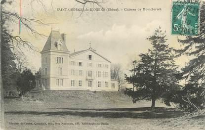 """CPA FRANCE 69 """"St Georges de Reneins, Château de Montchervet"""""""