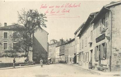 """CPA FRANCE 69 """"L'Arbresle, Rue de Paris"""""""