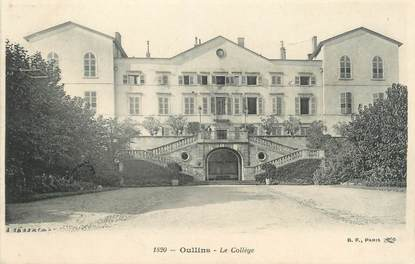 """CPA FRANCE 69 """"Oullins, Le Collège"""""""