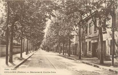 "CPA FRANCE 69 "" Oullins, Boulevard Emile Zola"""
