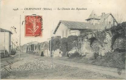 """CPA FRANCE 69 """"Chaponost, Le Chemin des Aqueducs"""""""