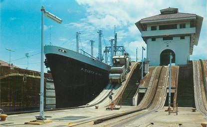 CPSM PANAMA / BATEAU