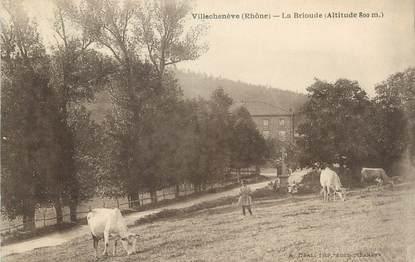 """CPA FRANCE 69 """" Villechenève, La Brioude"""""""