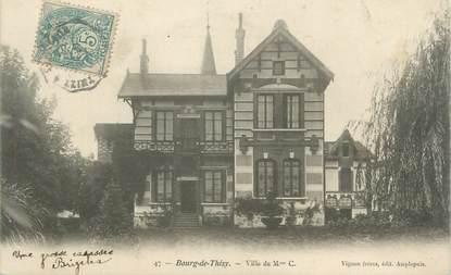 """CPA FRANCE 69 """" Bourg de Thizy, Villa de Mme C. """""""