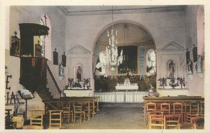 """CPA FRANCE 69 """"St Cyr le Chatoux, Intérieur de l'église"""""""