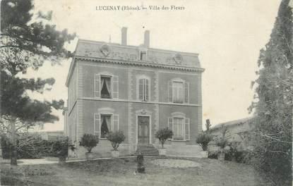 """CPA FRANCE 69 """"Lucenay, Villa des Fleurs"""""""