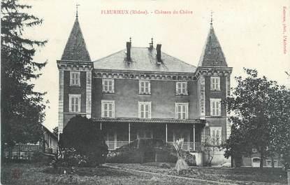 "CPA FRANCE 69 "" Fleurieux, Château du Chêne"""