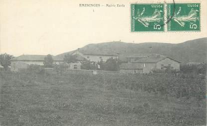 "CPA FRANCE 69 "" Emeringes, Mairie-école"""