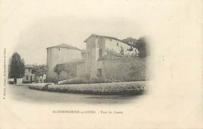 """CPA FRANCE 69 """"St Symphorien sur Coise, Tour du Comte"""""""