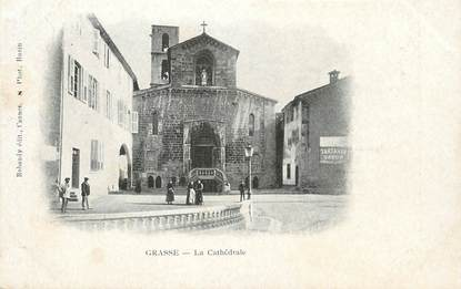 "CPA FRANCE 06 ""Grasse, La Cathédrale"""