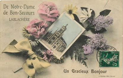 """CPA FRANCE 07 """"Lablachère, Notre Dame de Bon Secours"""""""