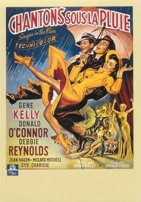 """CPSM CINEMA / AFFICHE FILM """" Chantons sous la pluie"""""""