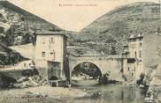"""07 Ardeche CPA FRANCE 07 """"Le Pouzin, le Pont du Moulin"""""""