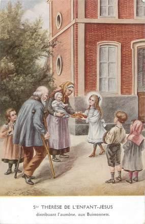 """CPA RELIGION """" Ste Thérèse de l'Enfant Jésus"""""""