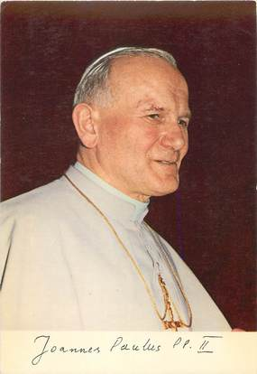 "CPSM RELIGION PAPE "" Jean-Paul II"""