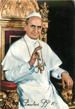 """CPSM RELIGION PAPE """" Paul VI"""""""