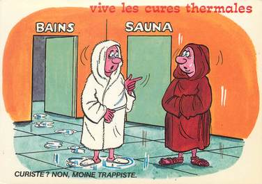 CPSM THERMALISME / HUMOUR / ALEXANDRE