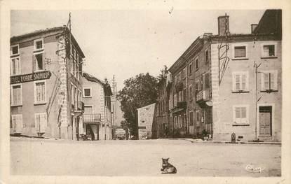 """/ CPA FRANCE 42 """"Pélussin, quartier Notre Dame, hôtels"""""""