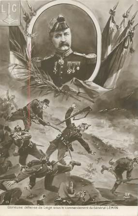 """CPA MILITAIRE """" Général Léman"""""""