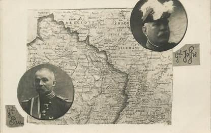 """CARTE PHOTO MILITAIRE """" Général Joffre"""""""